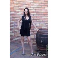 La Pierre Akio ruha fekete