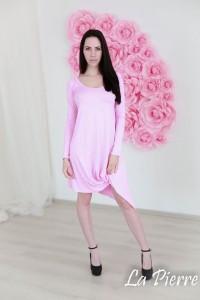 La Pierre Money ruha rózsaszín színben