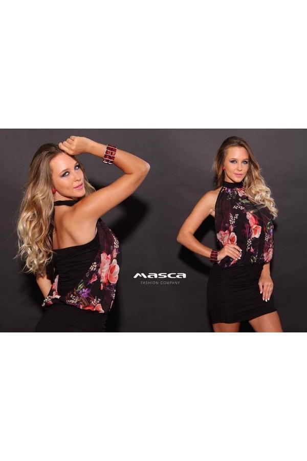 Masca Fashion nyakba kötős ruha 99057e4a02