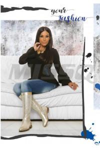 Missq Fanni pulcsi fekete