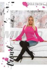 Missq Fanni pulcsi pink