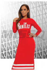 Missq Naomi ruha piros