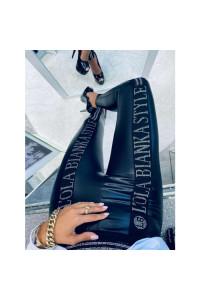 Lola Bianka Silver Leggings II.
