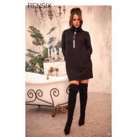 Rensix tunika fekete