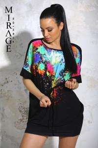 Mirage Rebi tunika/fekete