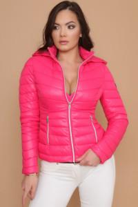 AMNESIA zippes zsebű dzseki pink