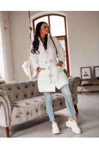Ola Voga Lovein fehér kabát