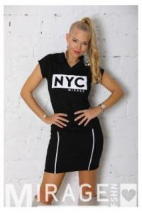 Mirage NYC zippes ruha