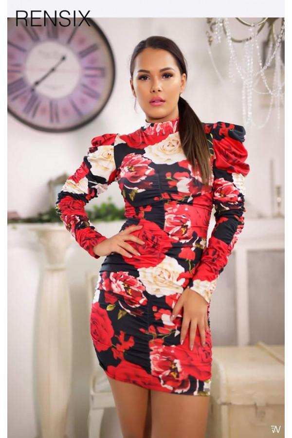 Rensix Virág mintás ruha