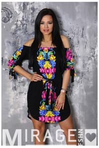 Mirage Glória ruha - Színes virágos