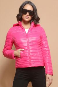 AMNESIA Sűrűn steppelt dzseki pink