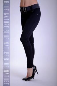 Blue Nature Öves puntó nadrág (elasztikus) fekete