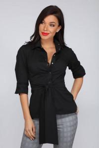 La Pierre Regina ing fekete színben