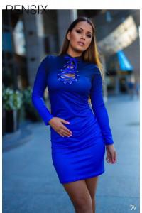 Rensix színátmenetes ruha kék