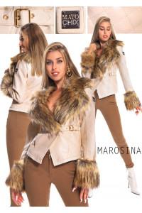 Mayo Chix Marosina kabát ekrü