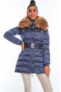 Mayo Chix Cardona kabát Acélkék