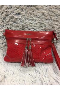 Missq borítéktáska piros 29*17 cm
