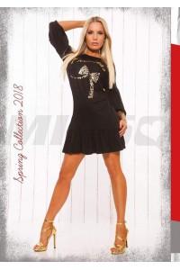 Missq E. Princess ruha fekete