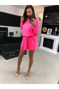 3a695212cf Keresés - Címke - Ola Voga ruha neon pink színben