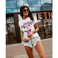 Ola Voga White Minnie T-Shirt