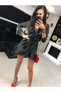Ola Voga fodros ruha fekete