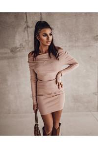Ola Voga Dirty Rose Tight Dress