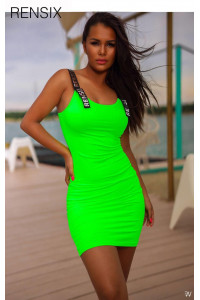 Rensix zöld ruha