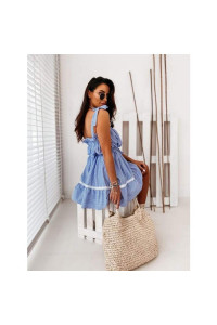 Blue Strapped Greece ruha