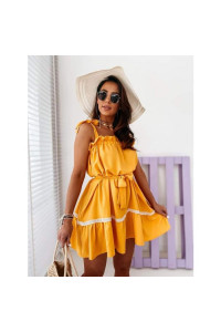 Yellow Strapped Greece ruha